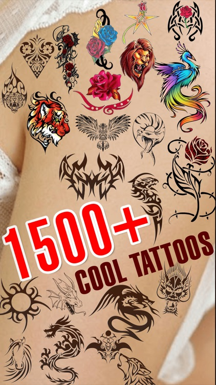 Tattoo Designer Booth - Add Tattoos on your body