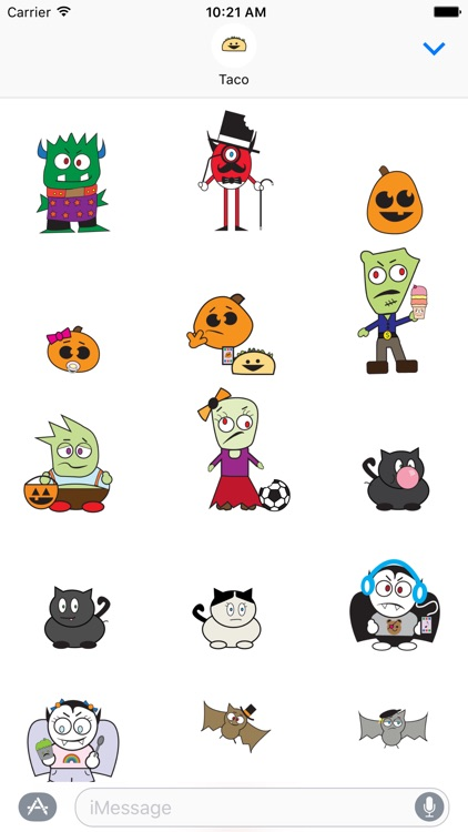 DooDads Halloween Stickers screenshot-1