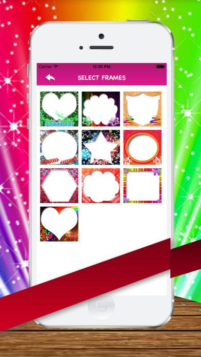 Amazing Glitter  photo Frames screenshot three