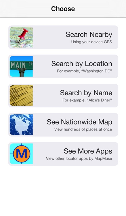 No Reservations Restaurant Locator by MapMuse screenshot-3