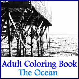 Adult Coloring Book - The Ocean Airbrush