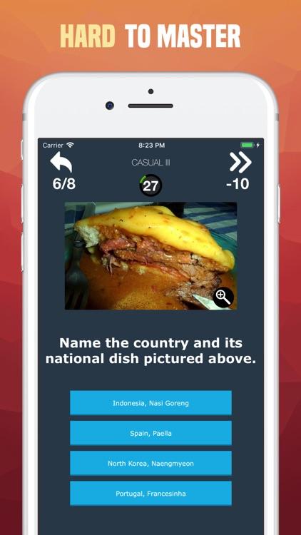 National Foods Quiz - Guess screenshot-4