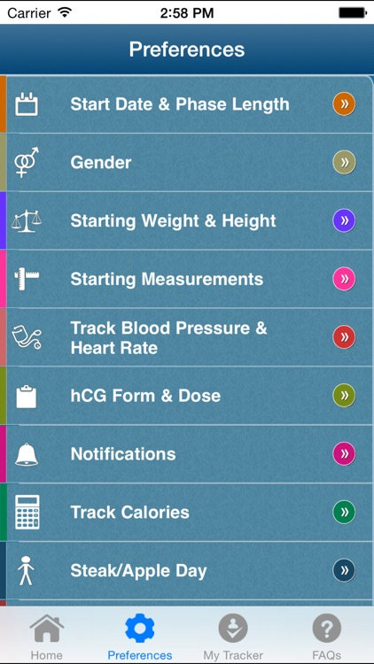 hCG Diet Tracker+ screenshot-1