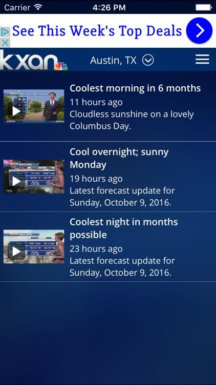 KXAN Weather - Local Austin Radar & Forecasts