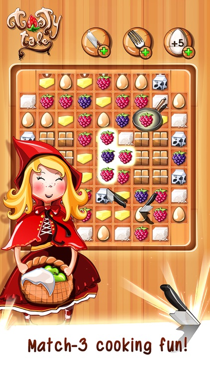 Tasty Tale - the crazy cooking puzzle game