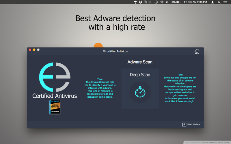 VirusKiller Antivirus Screenshots