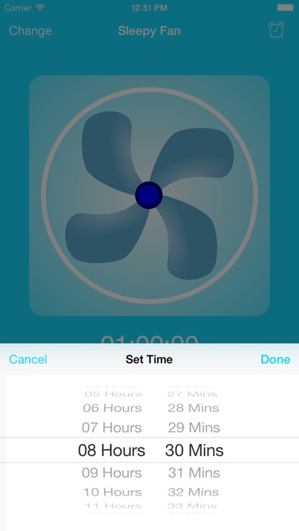 BedTime Sleep Fan - Relax With White Noise Sounds