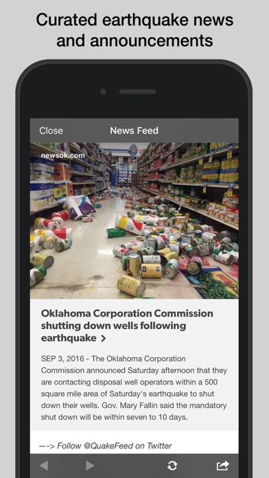 download QuakeFeed Earthquakes apps 3