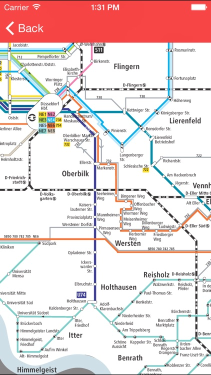 Düsseldorf Public Transport Pro screenshot-2