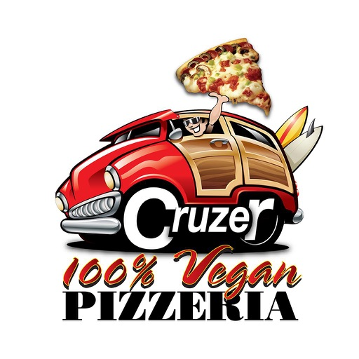 Cruzer Pizza - 100% Vegan
