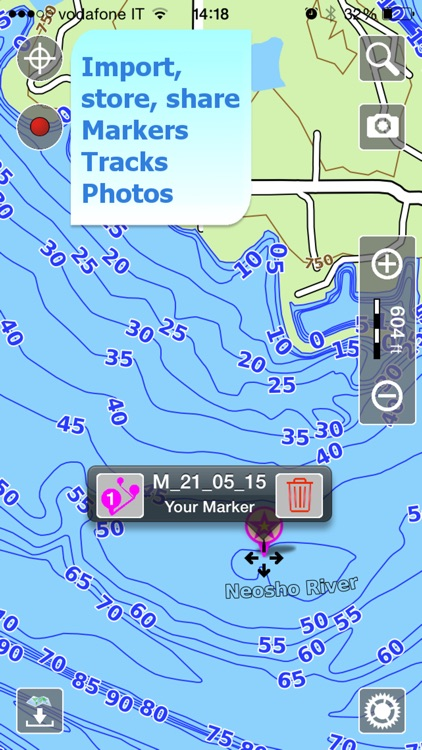 Aqua Map Missouri Lakes GPS