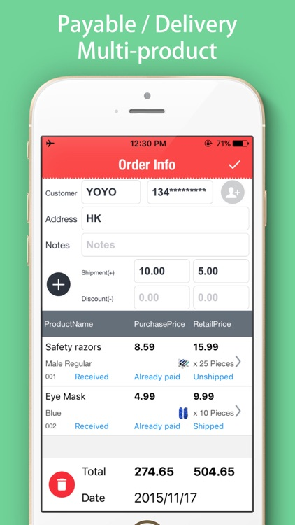 Retail Tracker-Retailers purchase & Invoicing screenshot-3