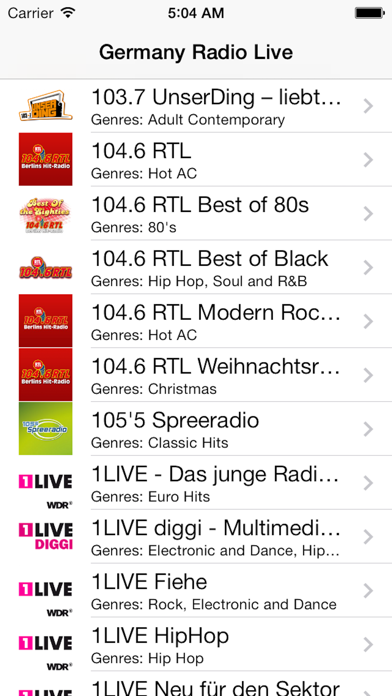 Germany Radio Live (Deutschland - Deutsch / German Radio)
