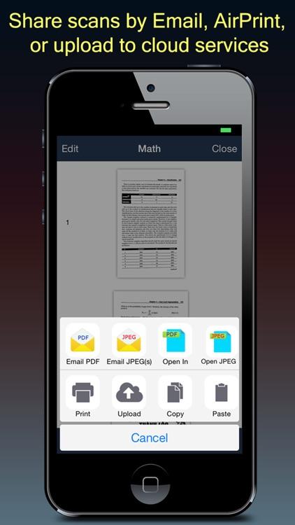 Fast Scanner : PDF Doc Scan screenshot-3