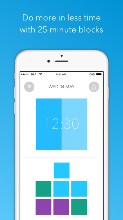 Block & Flow - A beautiful timer and tracker