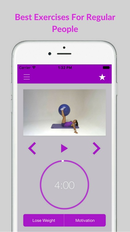 Swiss Ball Exercises Stability Fit Workout Program screenshot-3