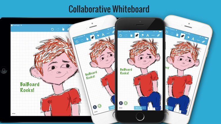 BaiBoard 3 - Collaborative Whiteboard screenshot-3