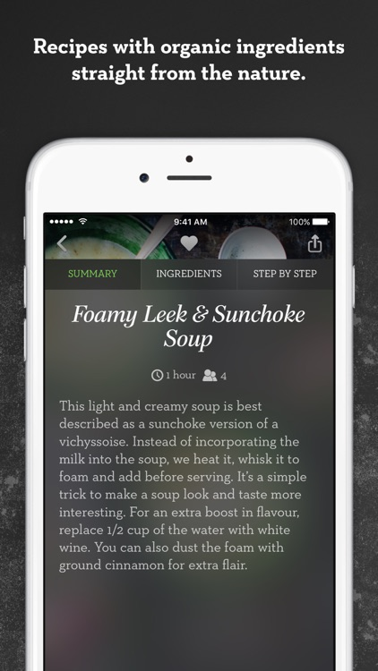 Green Kitchen – healthy vegetarian recipes app image