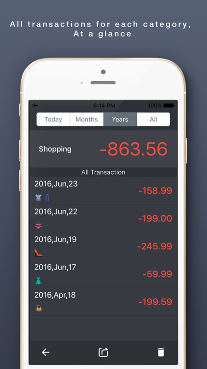 My Money Book Next-Money Monitor, Spending Tracker screenshot-3