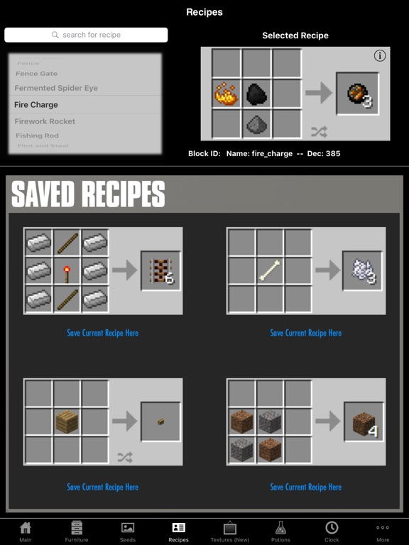 Guidecraft Furniture Guides For Minecraft App Voor