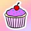 Ice Cream, Candy and Cake Stickers