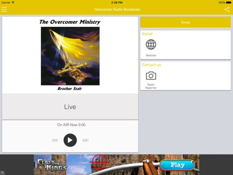 Overcomer Radio Broadcast-ipad-0
