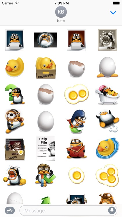 Stickers of Penguins & Stuffs