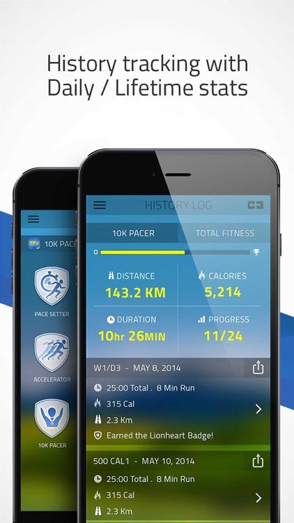 Pacer 10K: run faster races screenshot-4