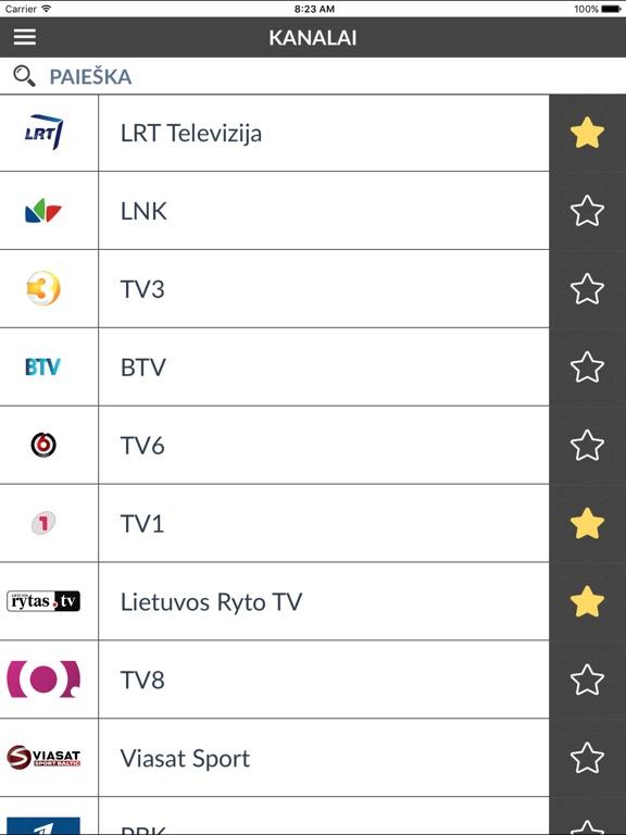 TV Programa Lietuva (LT) App - Preisentwicklung und Preisalarm