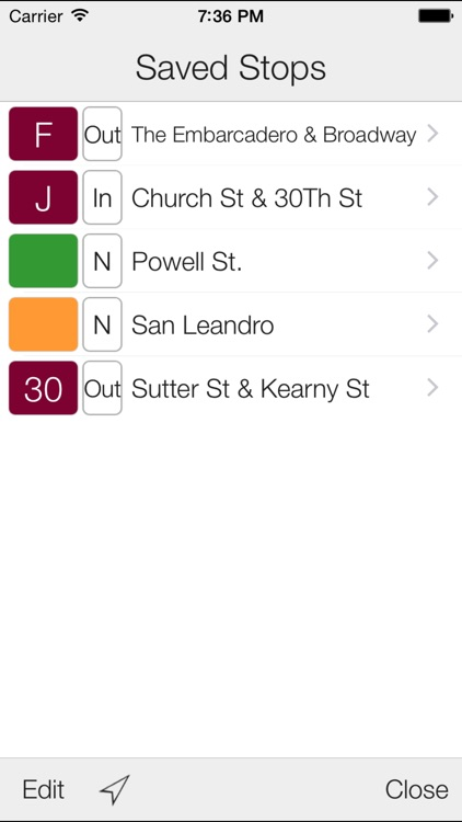Transit Stop: MUNI & BART screenshot-2