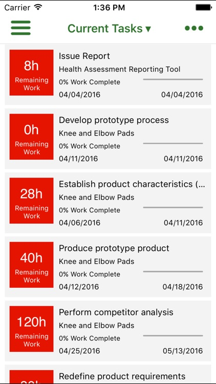 Office 365 Project Time Reporter