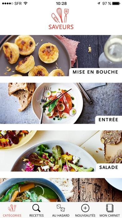 Screenshot for Saveurs, plus de 3000 recettes inratables, gourmandes et raffinées in Lebanon App Store