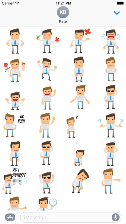 Funny Guy Stickers