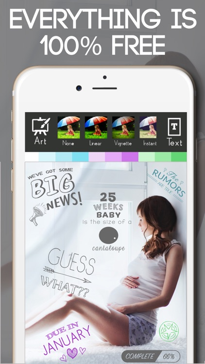 Baby Milestone Free Sticker Maker Pregnancy Editor screenshot-0