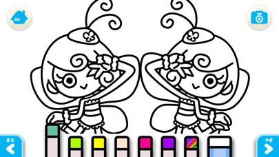 【無料版】ちょうちょう ~ぬりえで遊べる赤ちゃん・子供向けのアニメで動く絵本アプリ:えほんであそぼ!じゃじゃじゃじゃん童謡シリーズのおすすめ画像5