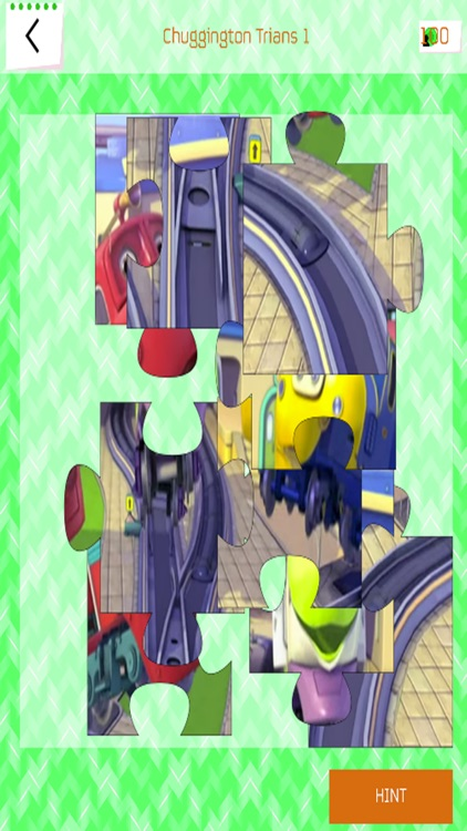 Jigsaw Puzzle Game - Chuggington Trians Version by Nattarat