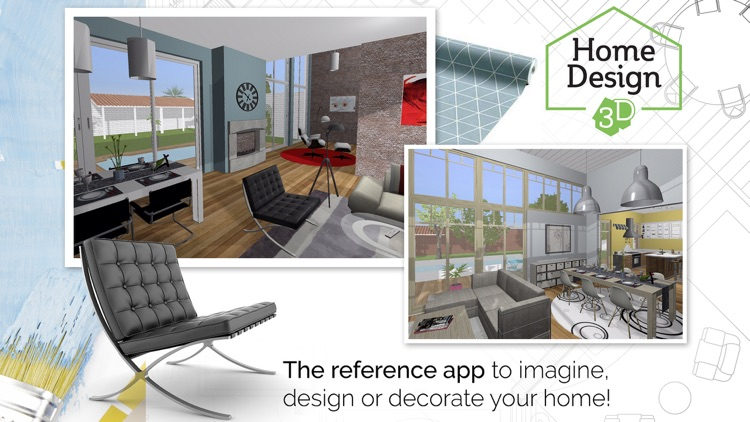 Home Design 3D GOLD screenshot-0