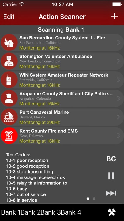 Action Scanner PRO - Police Fire and EMS screenshot-3
