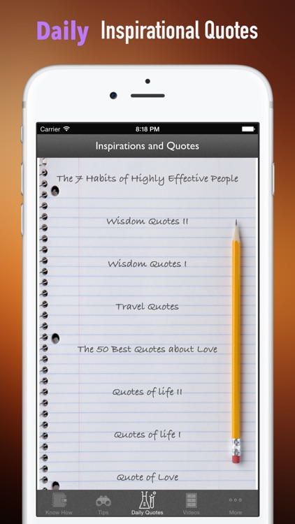 Guide for 7 Habits of Highly Effective People screenshot-4