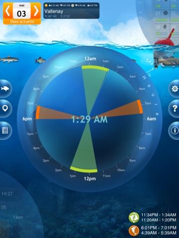 Screenshot #4 pour Pêche Deluxe – Calendrier et Meilleures Heures de Pêche