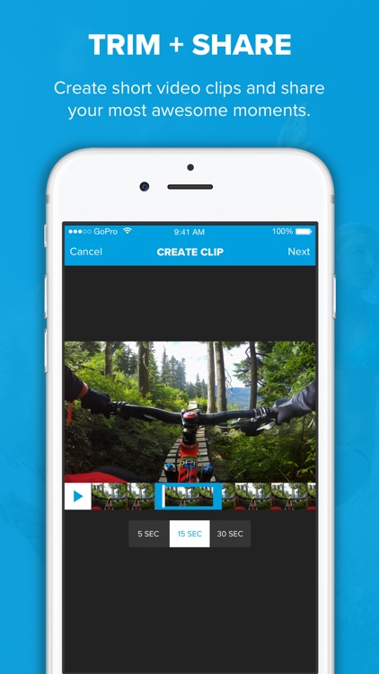 Capture - Control Your GoPro Camera - Share Video app image