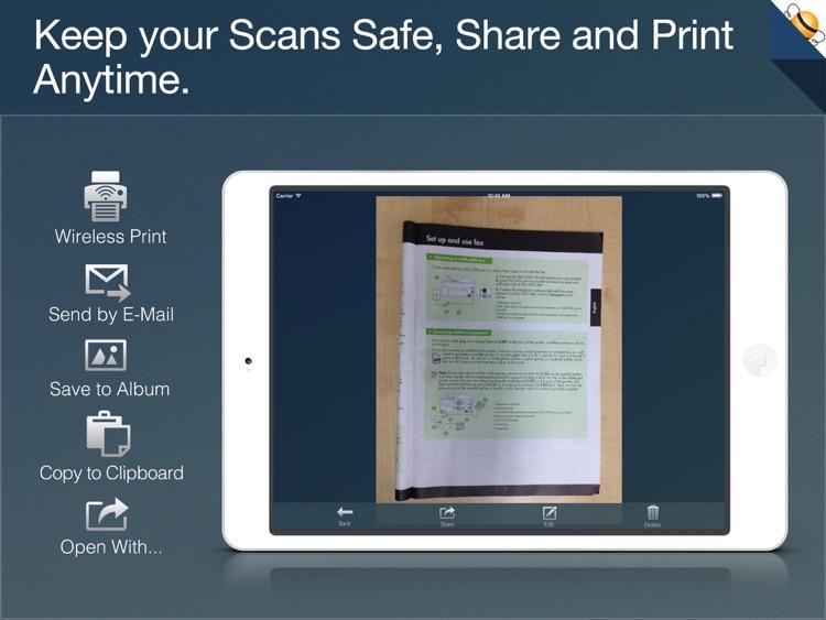 PDF Scanner for iPad screenshot-4