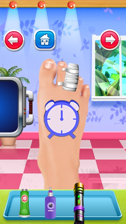 Foot Doctor Nail Spa Salon Game for Kids Free