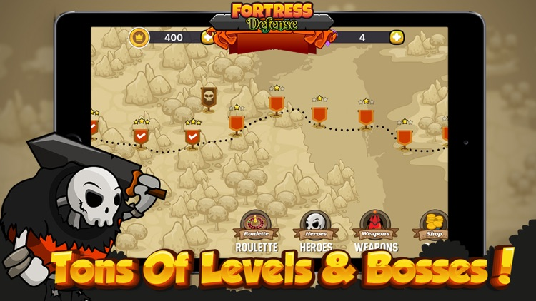 Fortress Tower Defense - Td Game & Epic Empire screenshot-3
