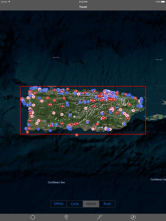 PUERTO RICO u2013 GPS Travel Map