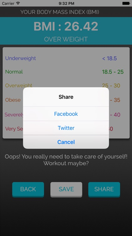 Healthy Weight Calculator - Advanced BMI tracker by Hatim hatim
