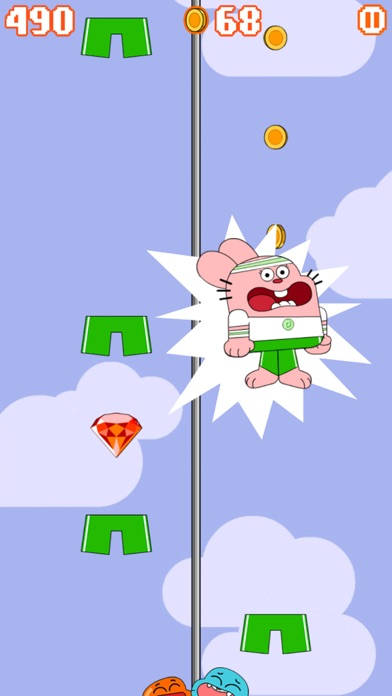 Sky Streaker - Gumball Climbing Arcade Game screenshot four