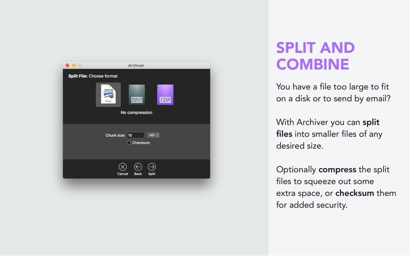 Archiver Screenshot