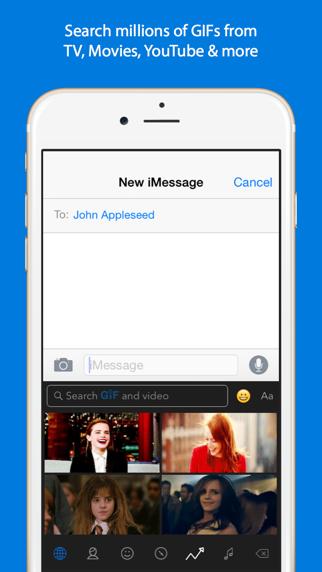 Screenshot for GIF Keyboard in Korea App Store