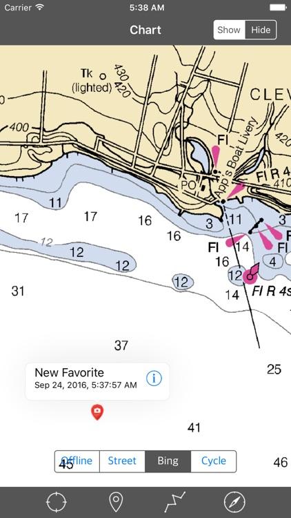 Oneida Lake (New York) – Raster Nautical Charts screenshot-3